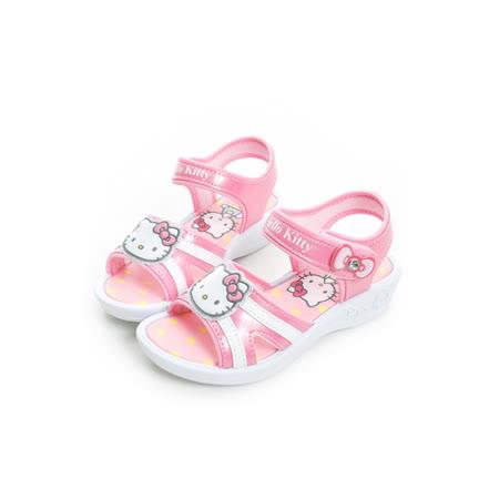 Hello Kitty 輕量舒適休閒涼鞋 815767-桃