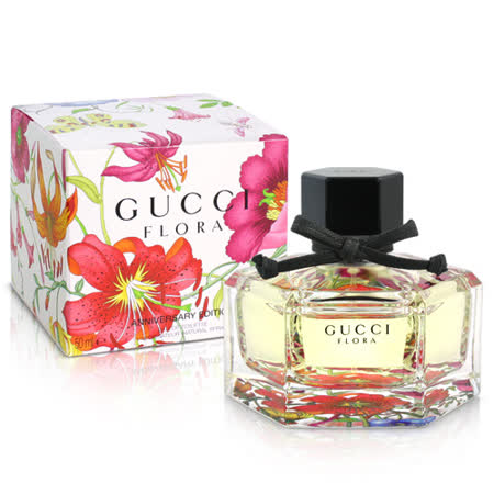 Gucci  花之舞五十週年限量版女性淡香水(50ml)-送品牌小香