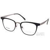 STEALER 光學眼鏡 簡約時尚百搭款 (黑-銀) # FIN C10
