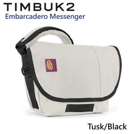 【美國Timbuk2】Embarcadero Messenger郵差包-Tusk/Black-(XS)