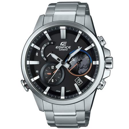 CASIO 卡西歐 EDIFICE 藍牙智慧時尚男用腕錶/EQB-600D-1A
