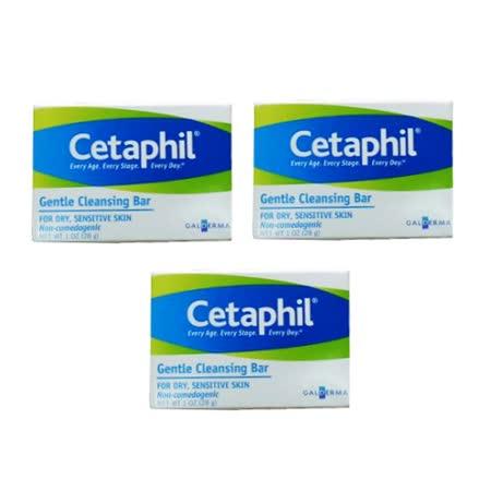 Cetaphil 舒特膚 溫和潔膚凝脂 28g*3