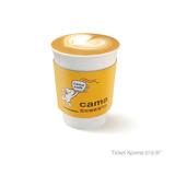 cama café 中杯經典拿鐵兌換券