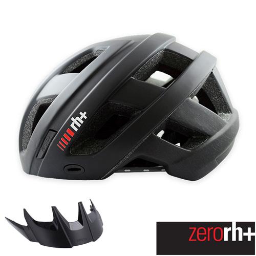 ZERORH 自行車安全帽 CAMINHO系列 ^(黑白^) 附遮陽板 EHX6063 2