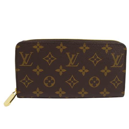 Louis Vuitton LV M42616 ZIPPY 新版經典花紋拉鍊長夾_現貨