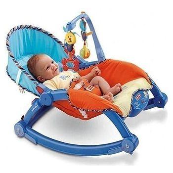 費雪 可攜式兩用安撫躺椅 多功能輕便搖椅