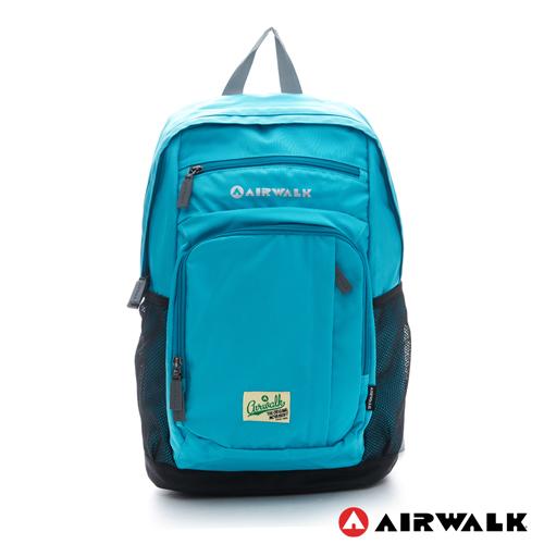 AIRWALK ~ 森林系男孩 多 強化尼龍後背包 ~ 溪水藍