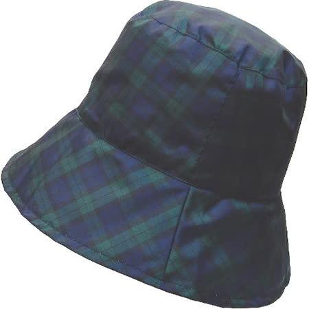 【波克貓哈日網】造型雨帽◇TRADITION◇《藍綠格紋》防潑水