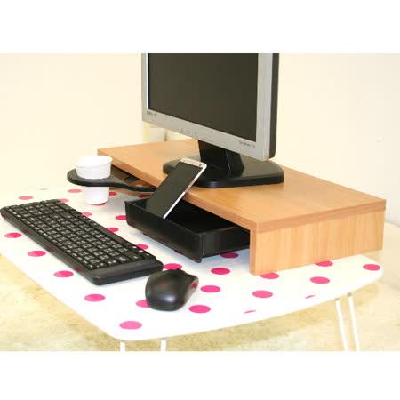 【空間生活】多功能營幕桌上架-附抽屜+飲料架