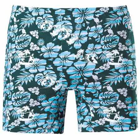 【DADADO】悠閒的夏天 M-3L 印花平口褲(夏日綠)