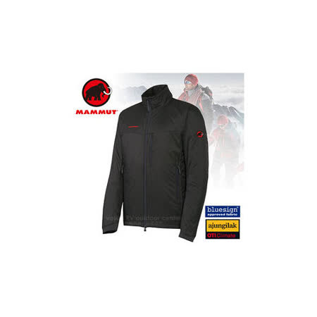 【瑞士 MAMMUT 長毛象】男新款 Lithium Jacket Men保暖抗風抗水外套_石墨灰 15580-0121