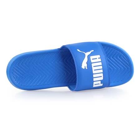 (男女) PUMA POPCAT 運動拖鞋 -游泳 戲水 藍白