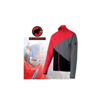 【瑞士 MAMMUT 長毛象】Tasman Jacket  男款 防風保暖軟殼外套/保暖.吸濕.排汗.透氣.防風 11890-0575 紅