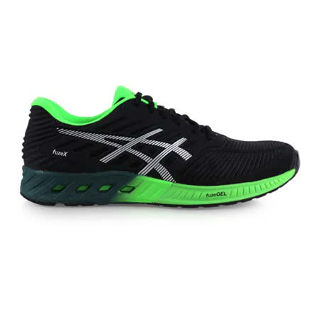 (男) ASICS FUZEX 慢跑鞋- 路跑 亞瑟士 黑綠