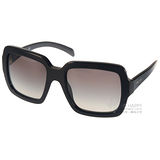 PRADA 太陽眼鏡 質感大方框款 (黑) #PR07R 1AB0A7