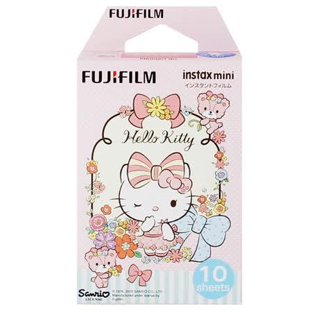 FUJIFILM instax mini Kitty-碎花 拍立得底片(3盒裝).