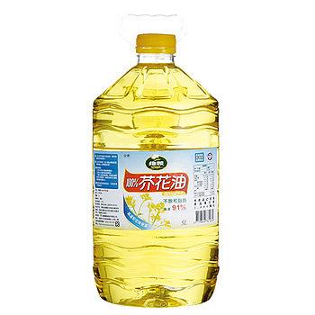 J-維義100%芥花油5L