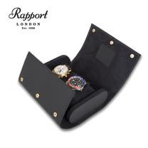 【Rapport London 名錶收藏盒】【啞面橡膠】 2支裝 手工精品 錶盒