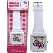 【波克貓哈日網】Hello kitty 凱蒂貓◇造型手錶腕錶◇《蝴蝶結》粉紅
