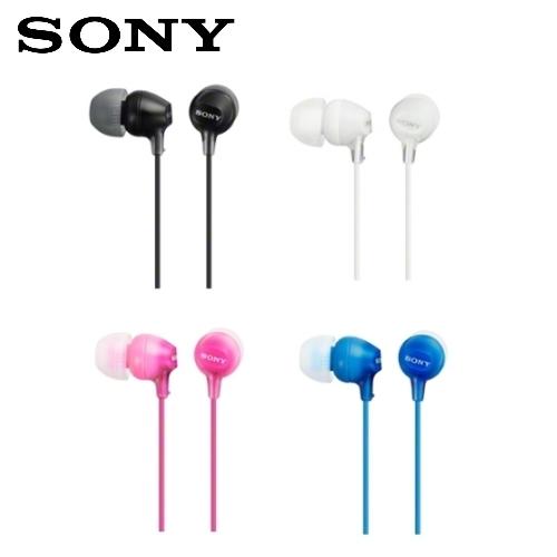 SONY 索尼 MDR-EX15LP 輕巧耳道式耳機