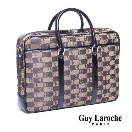 Guy Laroche 經典LOGO提花布公事包 020L-01012