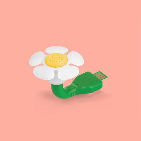 英國 Mustard USB 迷你香氛機 - 小白花
