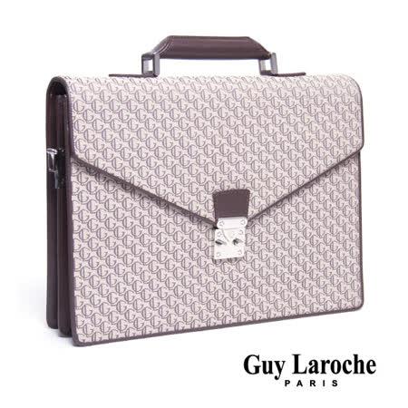 Guy Laroche 復古雙層公事包 020L-04312