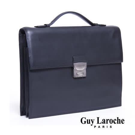 Guy Laroche 小型全皮公事包 020L-04801