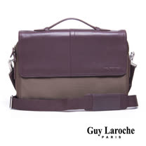 Guy Laroche 雙磁扣側背包 020L-05102