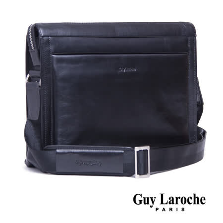 Guy Laroche 全皮側背包 020L-07001