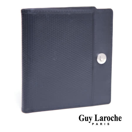 Guy Laroche 針孔紋正方夾 040L-02501