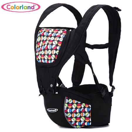 (彩色蛋)歐美colorland多功能護腰腰凳 便攜式四季背帶 全棉 嬰兒揹帶 減壓 背巾【LA0001】