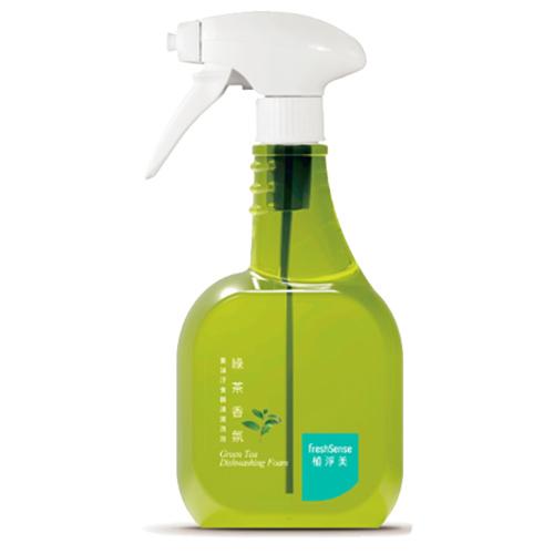 植淨美綠茶重油汙食器清潔泡泡535ml