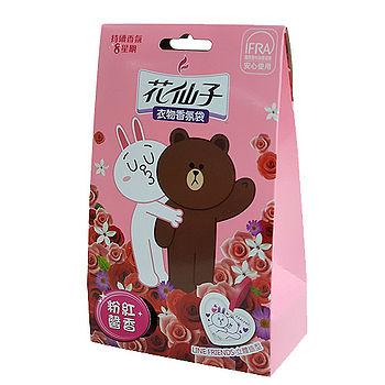 花仙子卡通衣物香氛袋10g*3馨香
