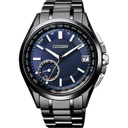 CITIZEN 星辰 GPS光動能衛星對時鈦金屬時尚限量錶/43mm/CC3015-57L