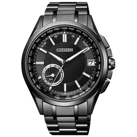 CITIZEN 星辰 GPS衛星對時限量時尚男用腕錶/42mm/CC3015-57E