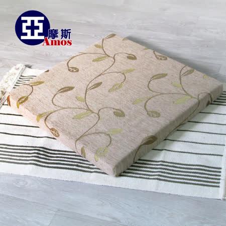 【Amos】絨布透氣止滑和室坐墊/木椅座墊