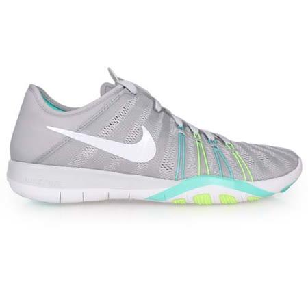 (女) NIKE WMNS FREE TR 6 訓練鞋- 慢跑 路跑 健身 淺灰綠