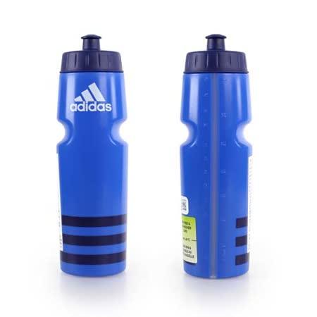 ADIDAS 運動水壺-750ML -愛迪達 單車 自行車 慢跑 路跑 藍丈青 F