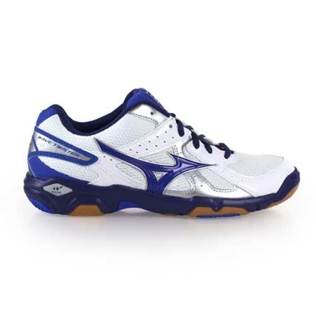 (男女) MIZUNO WAVE TWISTER 4 排球鞋- 羽球鞋 美津濃 白藍銀