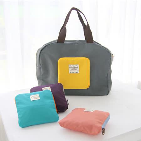 【OUTBOUND】韓系-便利環保可摺疊購物袋/媽媽包/旅行收納袋/行李袋(共4色)