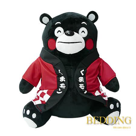 BEDDING 【坐姿熊本熊-紅】 18CM  可愛抱枕玩偶