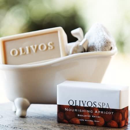 【Olivos 奧莉芙的橄欖】滋養杏桃果橄欖皂250g