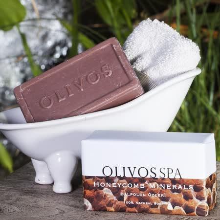 【Olivos 奧莉芙的橄欖】蜂巢礦物橄欖皂250g