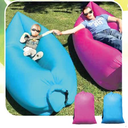 【網購】gohappy 線上快樂購【AKWTAKE】攜帶式空氣沙發懶人床3入評價怎樣快樂 購物