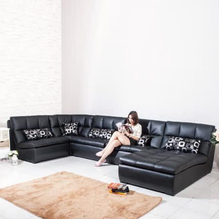 【真心勸敗】gohappy 線上快樂購AS-隨意拚組合式皮沙發-三人+躺椅+角落椅好用嗎大 元 百 威 秀