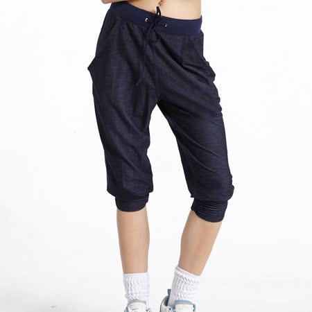 【TOUCH AERO】運動輕牛仔七分嘻哈褲 TAQ-10512(商品圖不含配件)