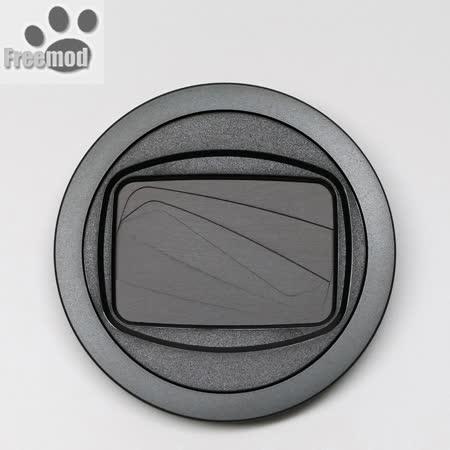 台灣製造Freemod半自動鏡頭蓋X-CAP2 49mm(BLACK黑色)