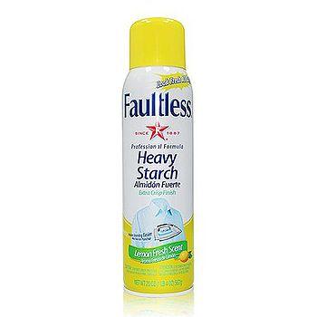 美國進口Faultless 強效噴衣漿-黃蓋/檸檬香 567g/20oz