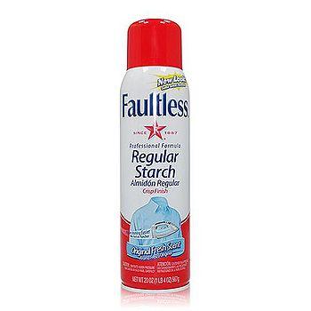美國進口Faultless 經典噴衣漿-紅蓋/清新香 567g/20oz